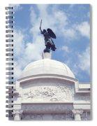 Pennsylvania Monument - Gettysburg Spiral Notebook