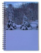 Pennsylvania Snowy Wonderland Spiral Notebook
