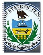 Pennsylvania State Seal Spiral Notebook