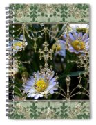Penny Postcard Rococo Spiral Notebook