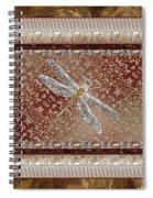 Penny Postcard Sophisticated Spiral Notebook
