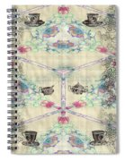 Penny Postcard Teahouse Spiral Notebook
