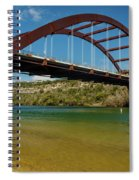 Pennybacker 360 Bridge, Austin, Texas Spiral Notebook