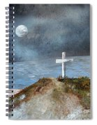 Pensacola Beach By The Light Of The Moon Spiral Notebook