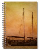 Pensacola Harbor Spiral Notebook