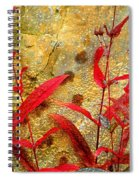 Penstemon Abstract 4 Spiral Notebook