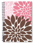 Peony Flowers 007 Spiral Notebook