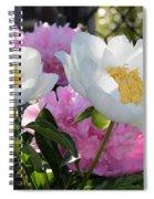 Peony Garden Spiral Notebook