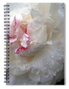 Peony Tears Spiral Notebook