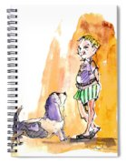 People And Their Dogs 01 Spiral Notebook