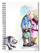People And Their Dogs 02 Spiral Notebook