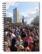 People As Far As The Eye Can See Spiral Notebook