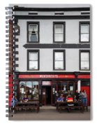 People At A Restaurant, Mccarthys Bar Spiral Notebook