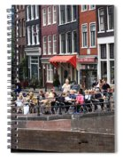 People By The Canal Spiral Notebook