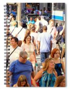 People In New York Spiral Notebook