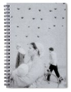 People In A Dream Spiral Notebook
