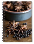 Pepper And Spice Spiral Notebook