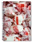 Peppermint Taffy Spiral Notebook