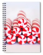 Peppermint Twist - Candy Canes Spiral Notebook