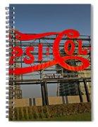 Pepsi Cola Spiral Notebook