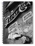 Pepsi Cola Vintage Logo  Spiral Notebook