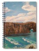 Perce Rock Gaspe  Quebec Spiral Notebook