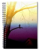Perched On A Branch Spiral Notebook