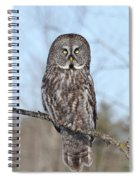 Perching Perfect Spiral Notebook
