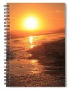 Perdido Key Sunburst Spiral Notebook