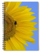 Perfect Half With Blue Sky Spiral Notebook