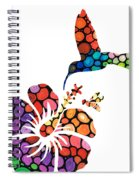 Perfect Harmony - Nature's Sharing Art Spiral Notebook