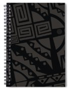 Perfect Imperfections II - Charcoal Infusion Spiral Notebook
