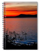 Perfect Marine Sunset Spiral Notebook