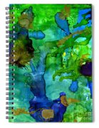 Perfect Petals And Spring Showers Spiral Notebook