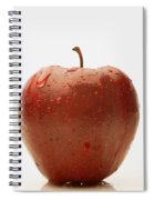 Perfect Red Apple Spiral Notebook