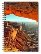 Perfect Sunrise Spiral Notebook