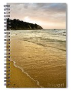 Perfect Sunset Beach Spiral Notebook