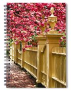 Perfect Time For A Spring Walk Spiral Notebook