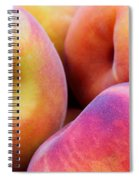 Perfectly Peachy Spiral Notebook