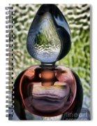 Perfume Bottle 1 Spiral Notebook