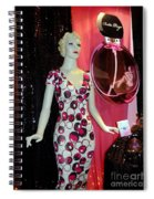 Perfume Girl Spiral Notebook
