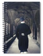 Period Gentleman Spiral Notebook