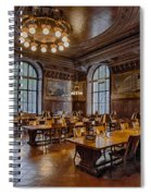 Periodical Room At The New York Public Library Spiral Notebook