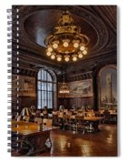 Periodicals Room New York Public Library Spiral Notebook