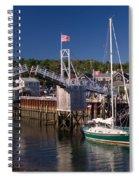 Perkins Cove Ogunquit Maine Spiral Notebook