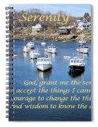 Perkins Cove Serenity Spiral Notebook