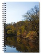 Perkiomen Creek In Autumn Spiral Notebook
