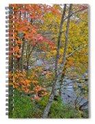 Perkiomen Creek - Perkiomenville Pa - Autumn Foliage Spiral Notebook
