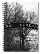 Perry Cemetery Spiral Notebook