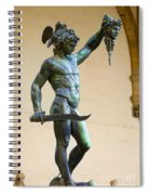 Perseus And Medusa Spiral Notebook